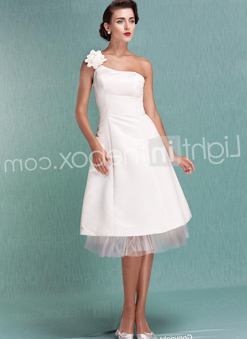 Plus Size Tea Length Wedding Dresses With Sleeves - Wedding Dresses ...