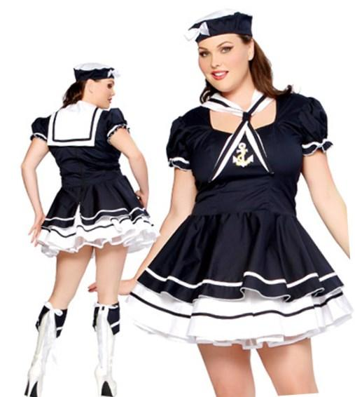 BIG PLUS SIZE SEXY POLICE WOMAN UNIFORM OUTFIT FANCY DRESS COSTUME L XL XXL 3XL