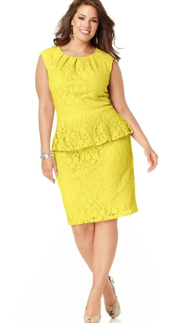 Macy plus size dress - PlusLook.eu Collection