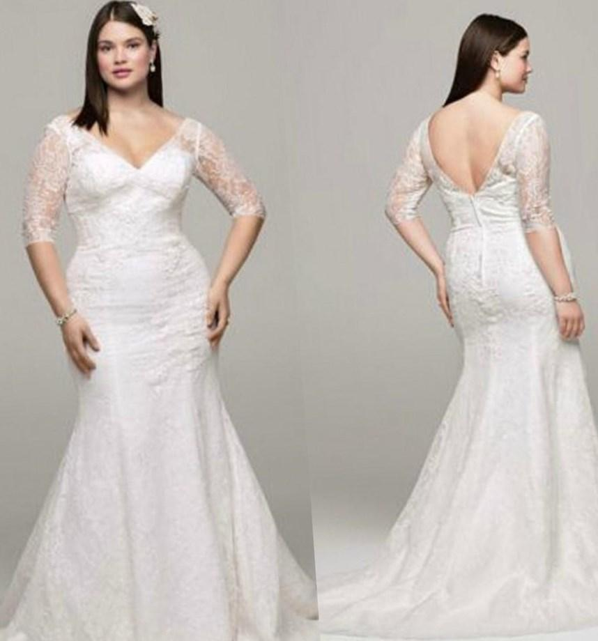 Vera wang plus size wedding dresses collection for Vera wang wedding dress used