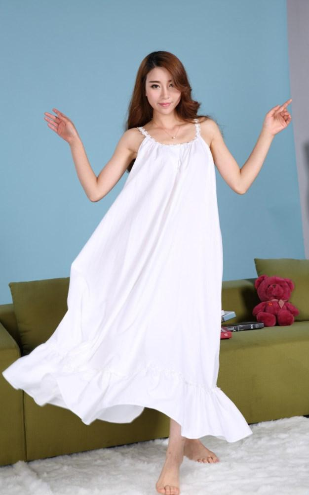 Long white summer dress plus size - PlusLook.eu Collection