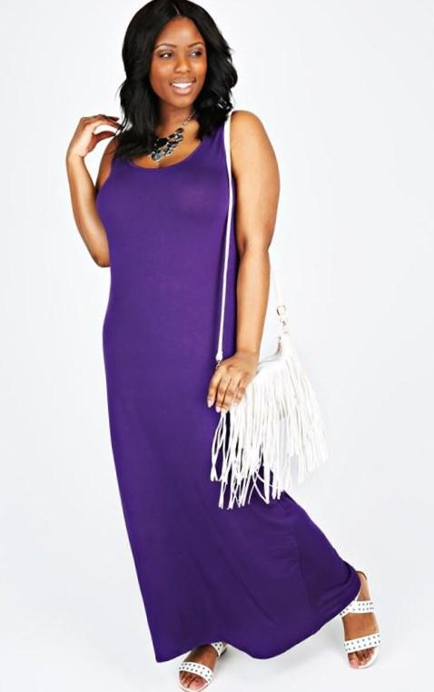 0097 pretty girl strapless purple grey silver pink royal blue elegant party maxi plus size evening