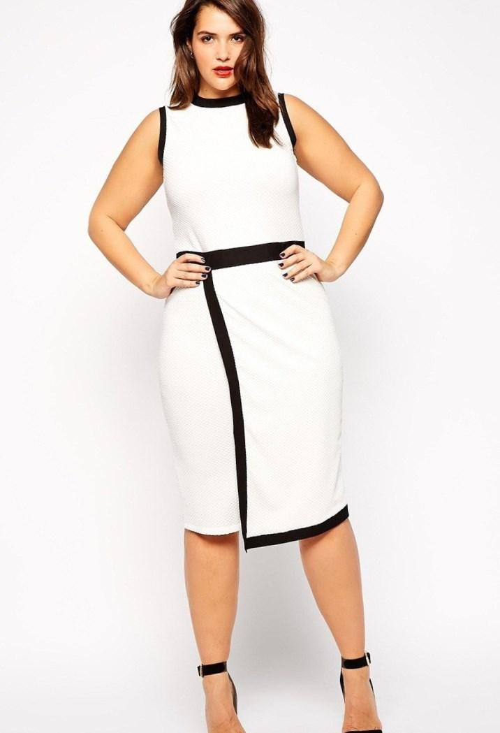 Fitted dresses plus size - PlusLook.eu Collection