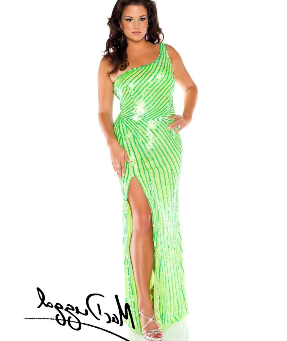 Plus Size Lime Green Dress Pluslook Collection