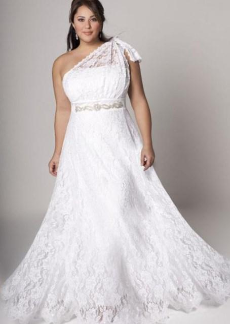 White Strapless Women Long Gown vestidos de noiva Marriage Wedding Gown Plus Size Lace Peplum Formal