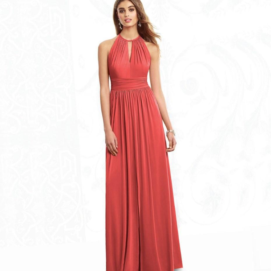 Plus Size Coral Bridesmaid Dresses Collection
