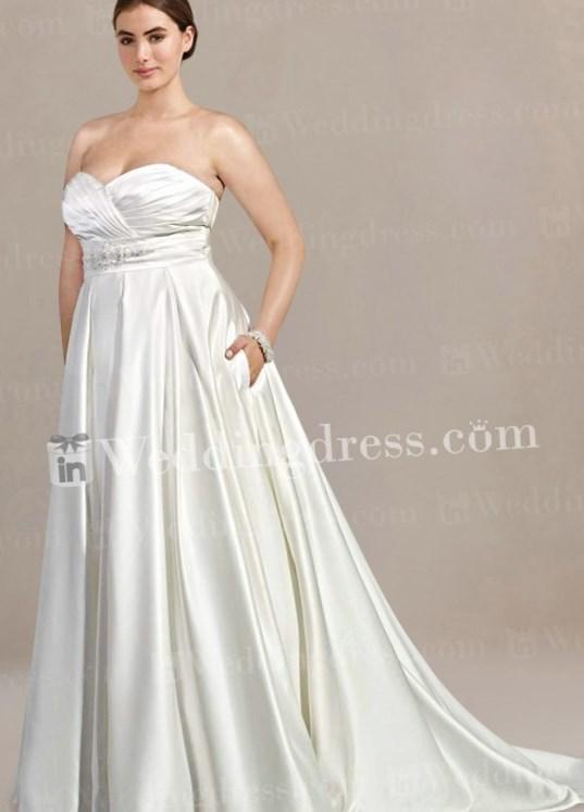 Plus size maternity wedding dress - PlusLook.eu Collection