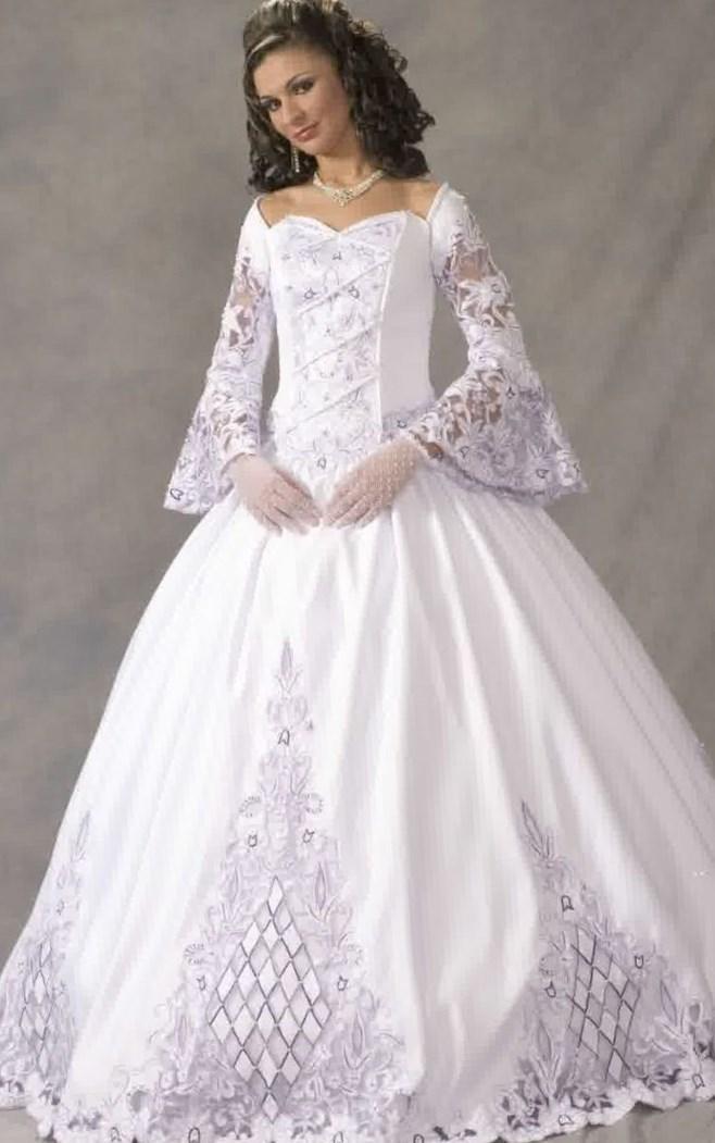 Celtic Wedding Dresses Plus Size Collection