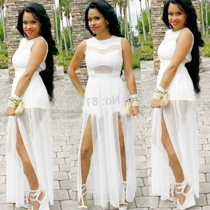 Dresses Wear All White Party Plus Size Prom Dresses