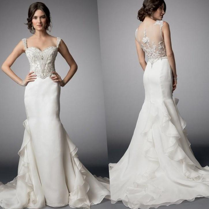 Fit And Flare Wedding Dress Plus Size Re Re