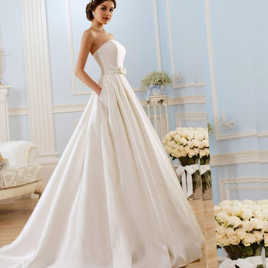 plus size wedding dresses with pockets collection