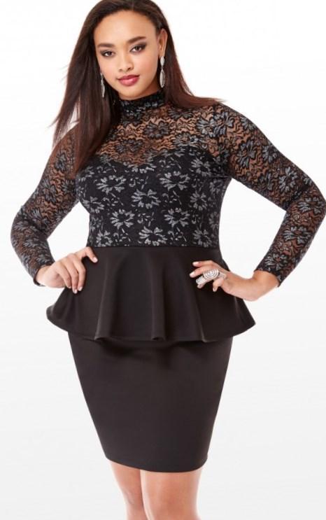 peplum dresses plus size - 28 images - plus size peplum dress