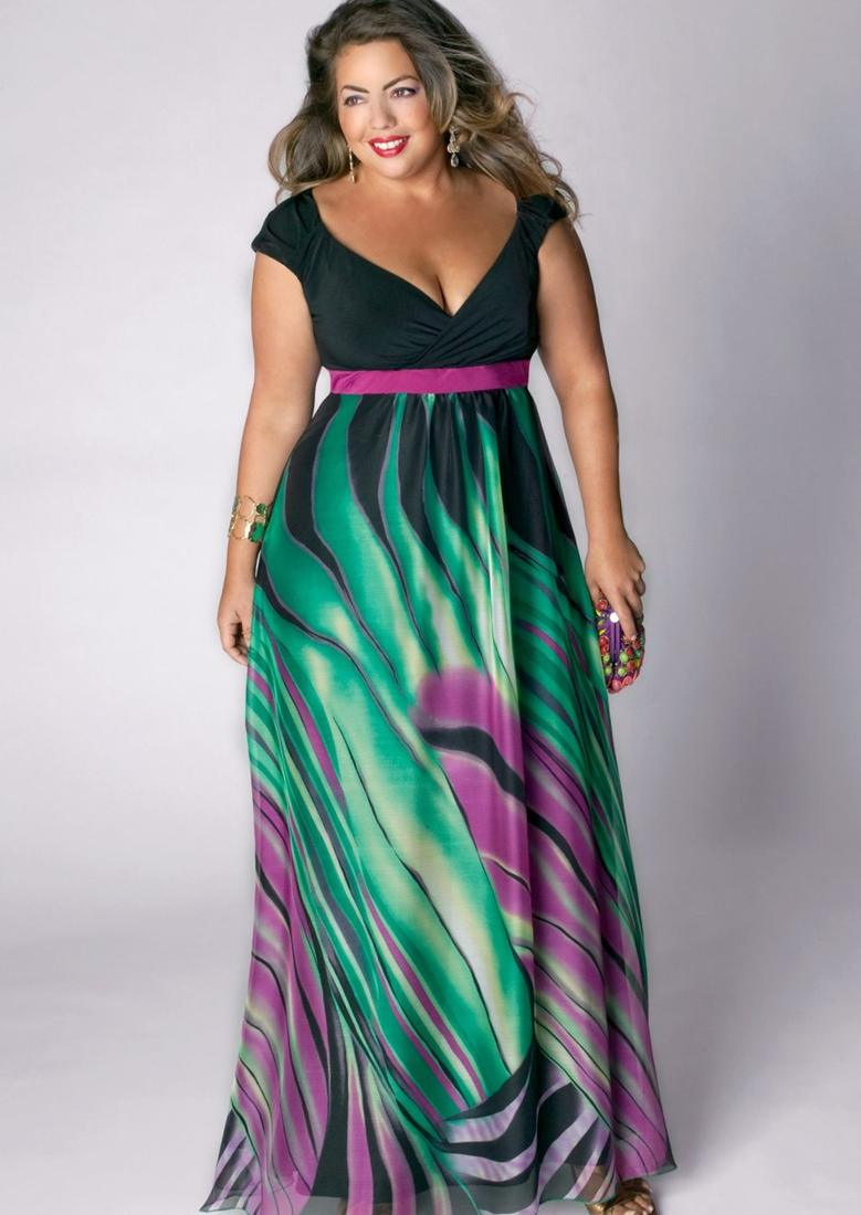 Dresses to flatter plus size - PlusLook.eu Collection