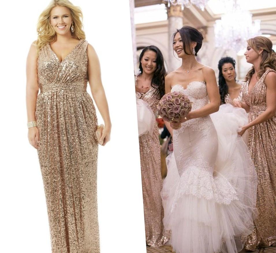 Plus Size Gold Wedding Dresses Pluslook Eu Collection