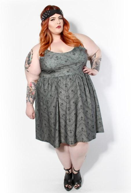 Plus size baby doll dress - PlusLook.eu Collection