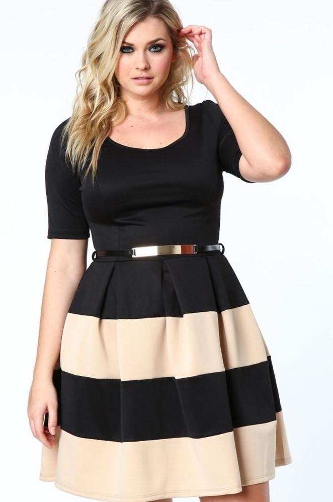 Casual dress plus size - PlusLook.eu Collection