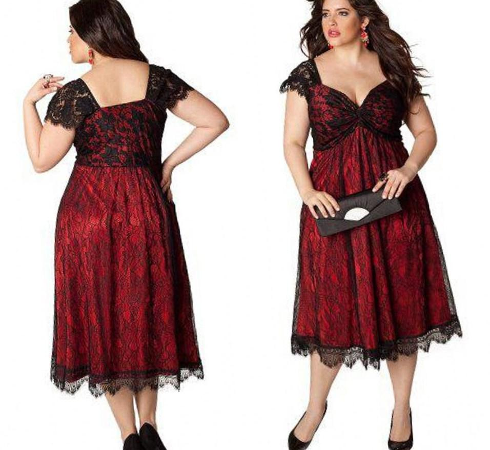 Plus Size Garden Party Dresses Pluslook Collection