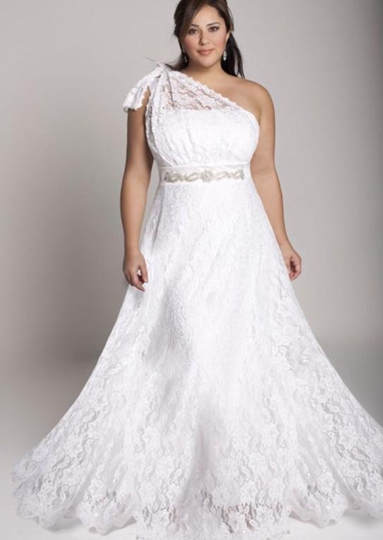 Plus size wedding dresses for mature brides for Plus size short wedding dresses under 100