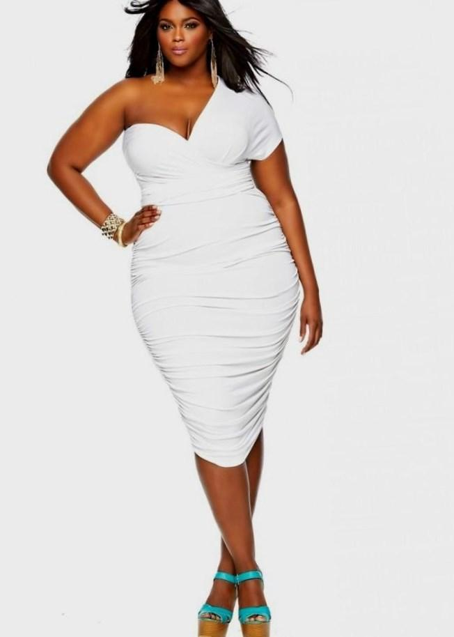 All White Short Party Dresses - Holiday Dresses