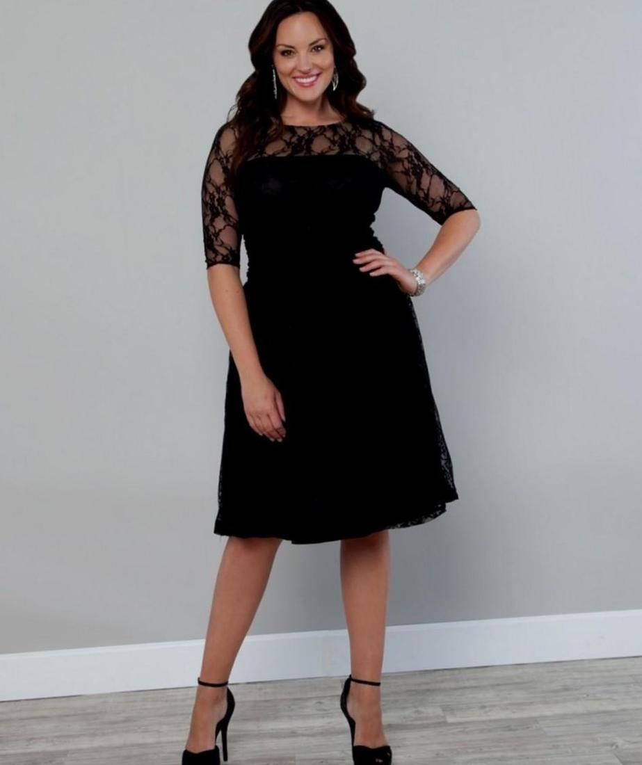 Scalloped Boudoir Lace Dress-Sale