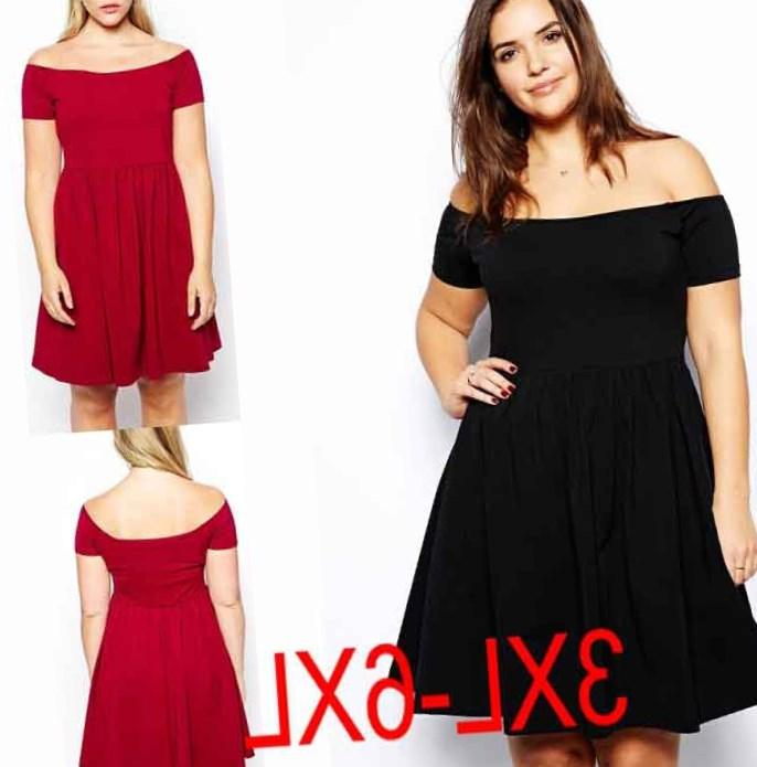 25b37d34e38 Casual dress for chubby ladies