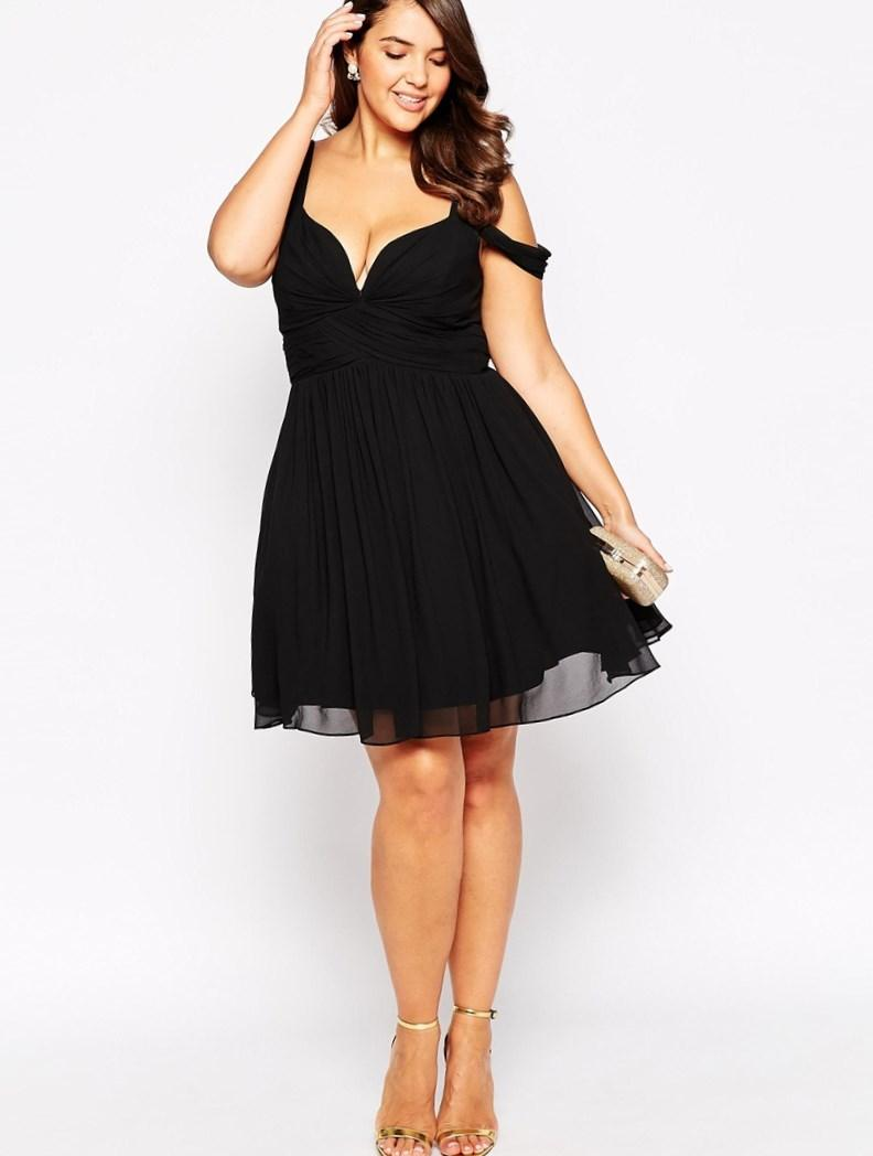 Cheap short plus size prom dresses - PlusLook.eu Collection