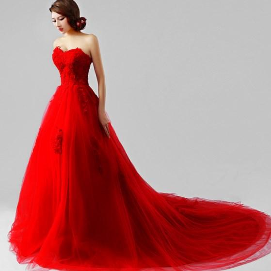 Awesome Red Ball Gown Plus Size Frieze - Top Wedding Gowns ...
