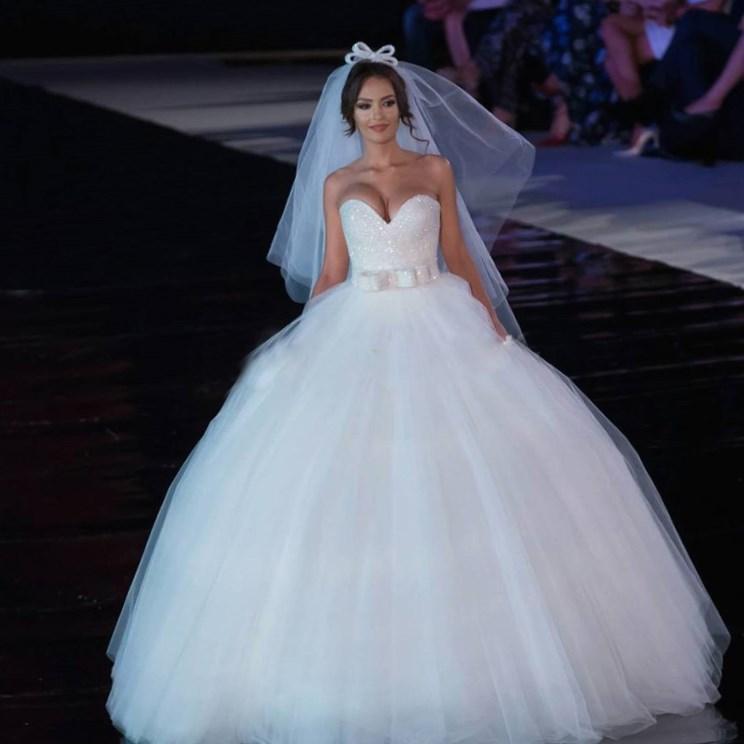 Plus Size Princess Ball Gown Wedding Dresses