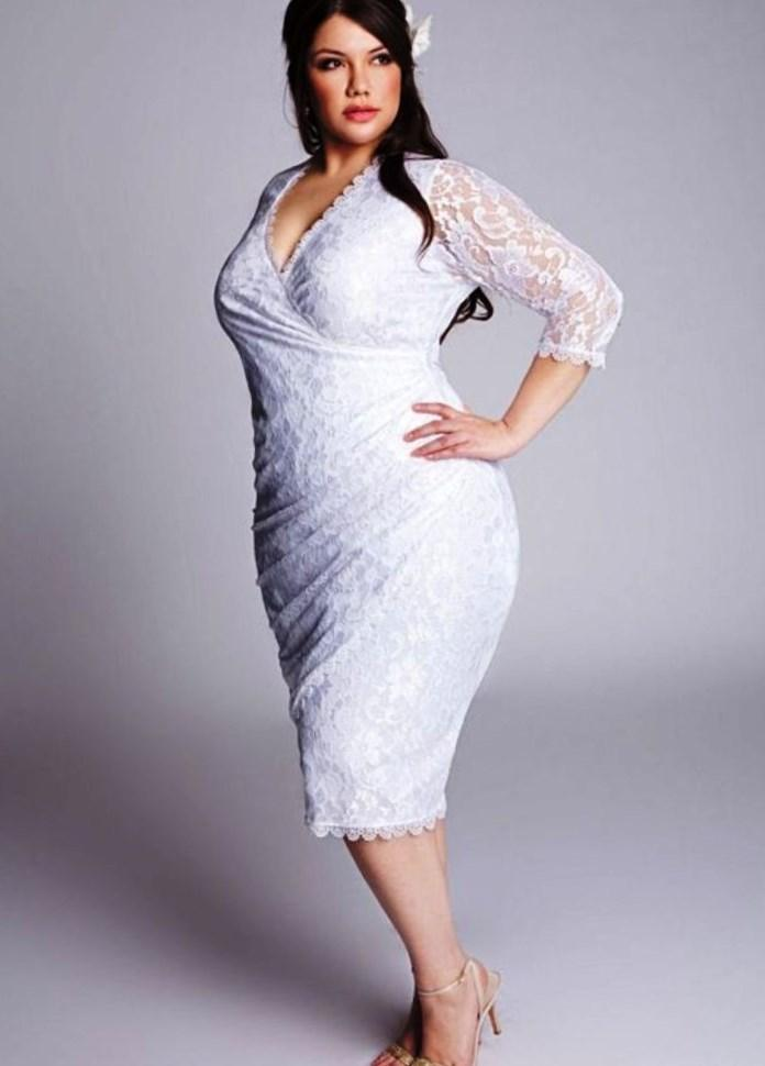 Bridal Fashion For The Mature Bride : Wedding Dresses For Plus Size Mature  Brides Pluslook Eu