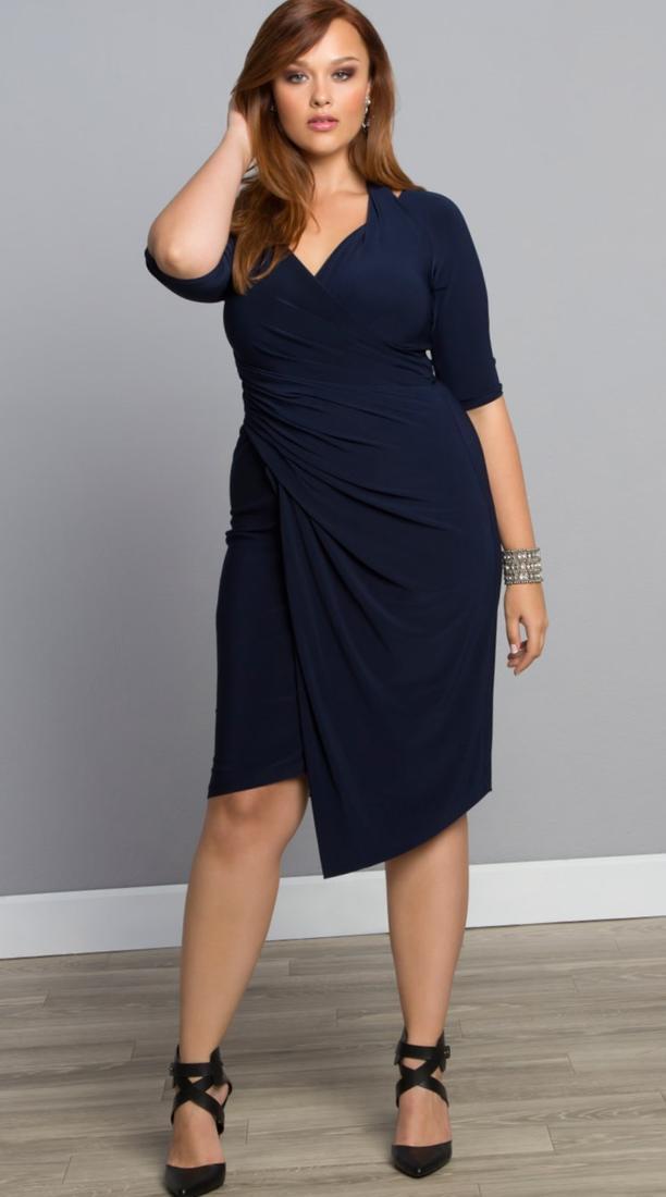 Black plus size dresses cocktail - PlusLook.eu Collection