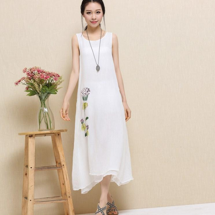 long white summer dress plus size pluslookeu collection