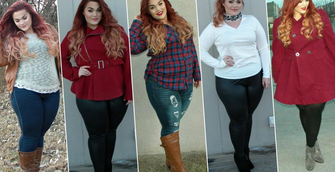The Curvy Diaries: Winter Fashion Lookbook | Plus-Size