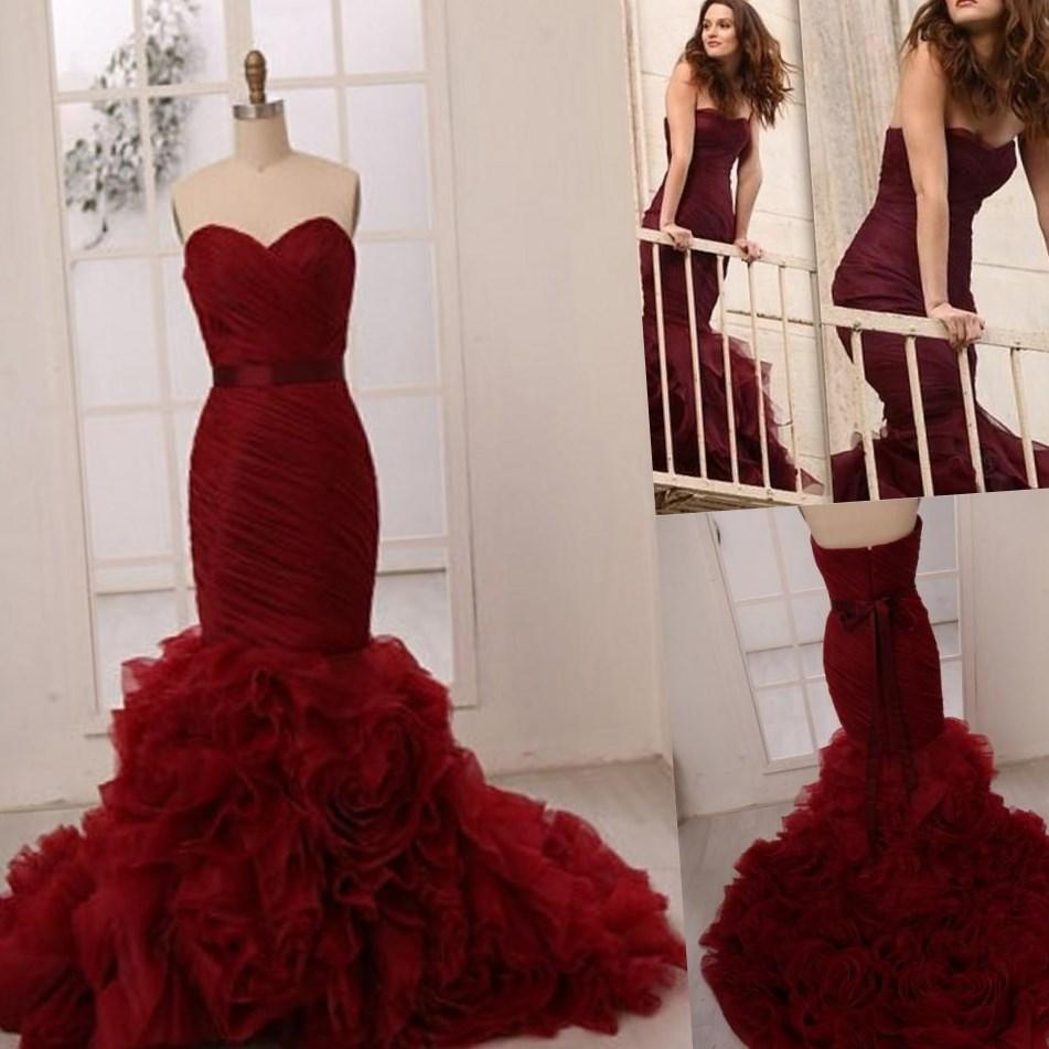 Red plus size wedding dresses - PlusLook.eu Collection  Red plus size w...