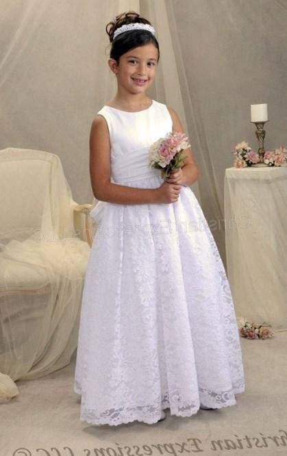 Girls Plus Size First Communion Dresses 82