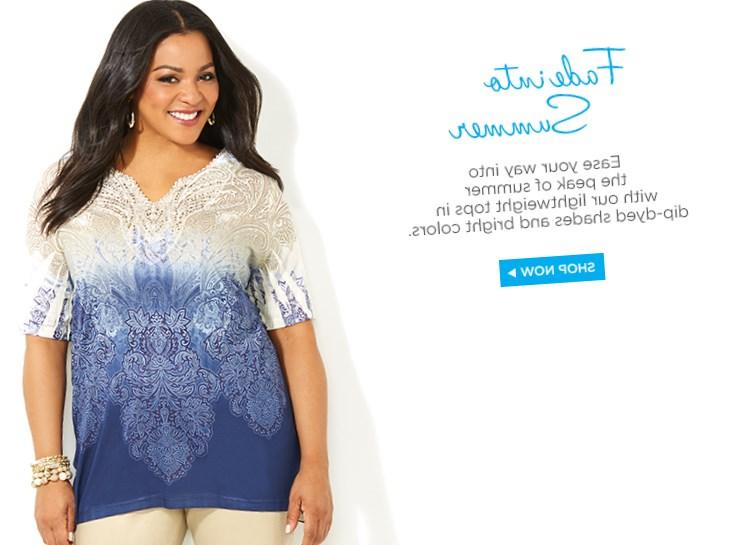 Keep up with all your favorite plus size fashions under the new collection by Catherines.