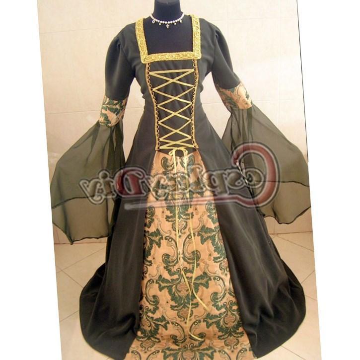 Plus Size Medieval Dresses