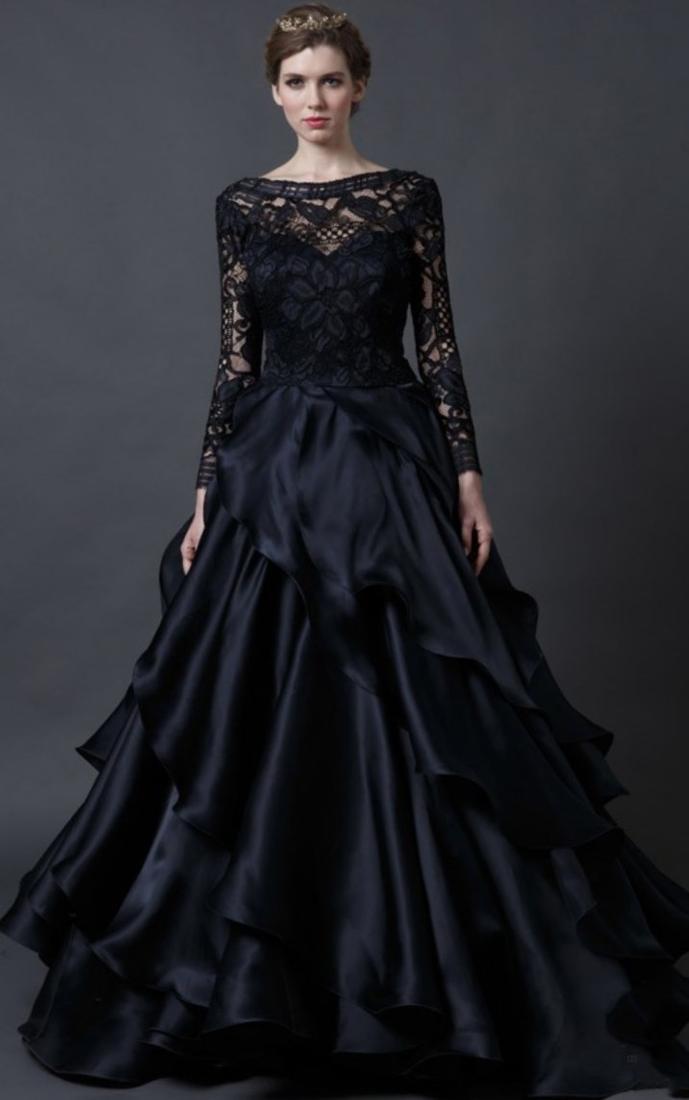 Plus size gothic wedding dresses bridesmaid dresses for Gothic wedding dresses cheap