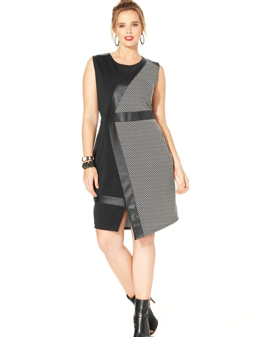 Macy plus size dress - PlusLook.eu Collection