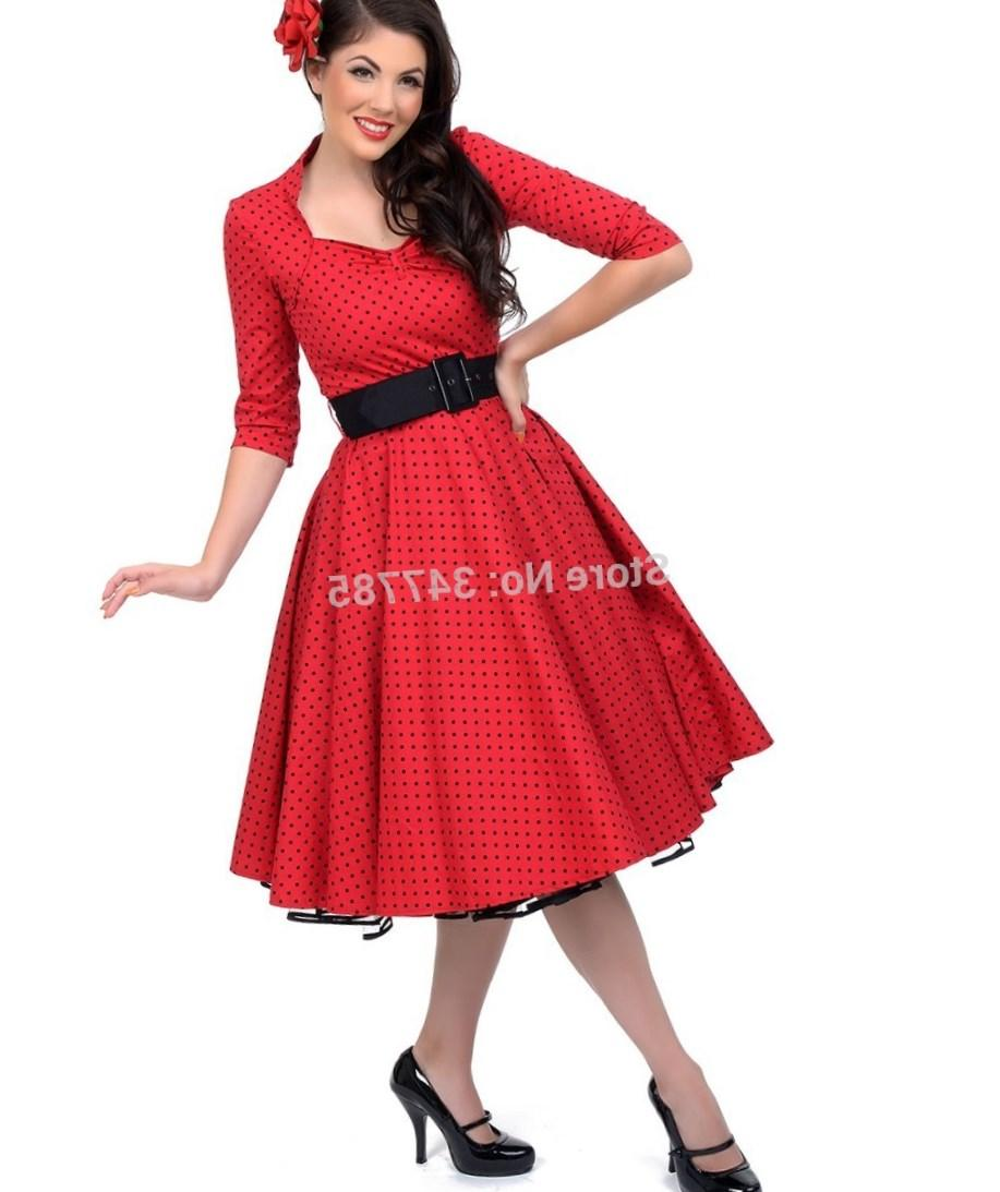 Rockabilly Plus Size Dress Pluslook Collection