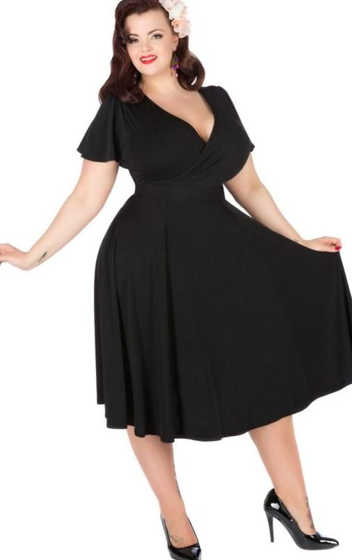 Plus size unique dresses - PlusLook.eu Collection