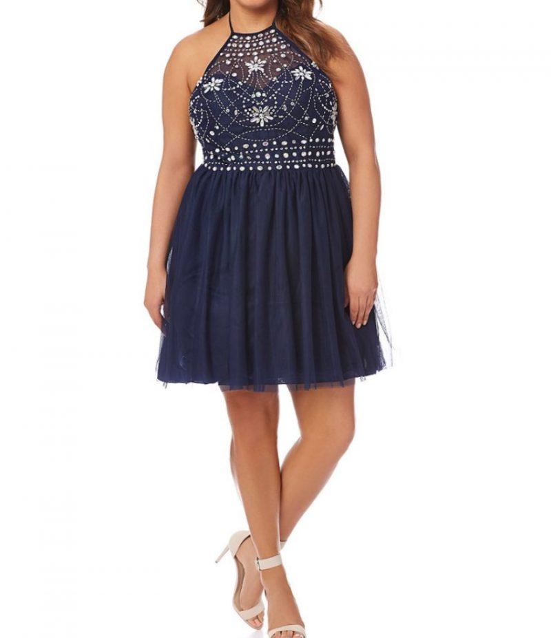 Fit and Fair Blue Darlin' Dress