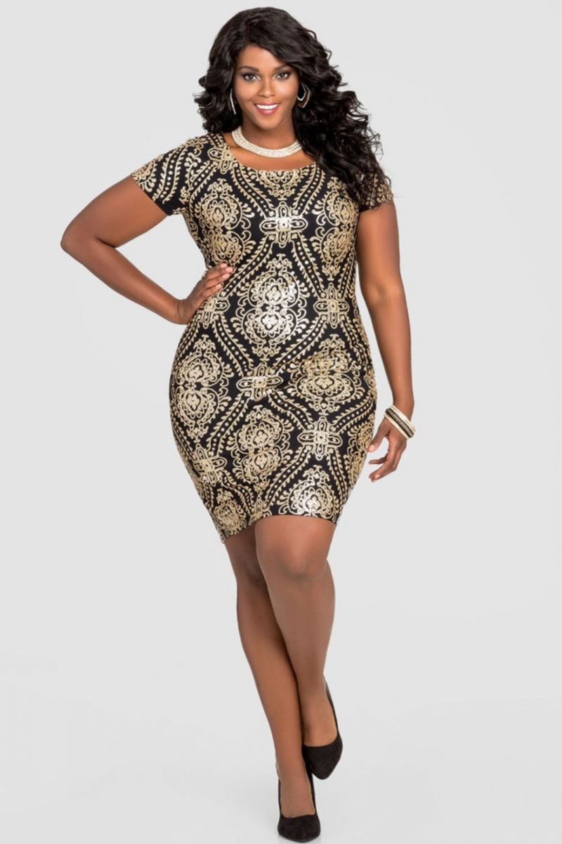 Plus Size New Years Eve Dress