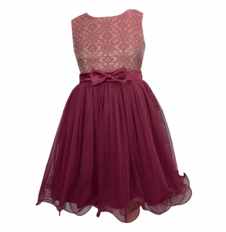 Cap Sleeve Holiday Party Dress