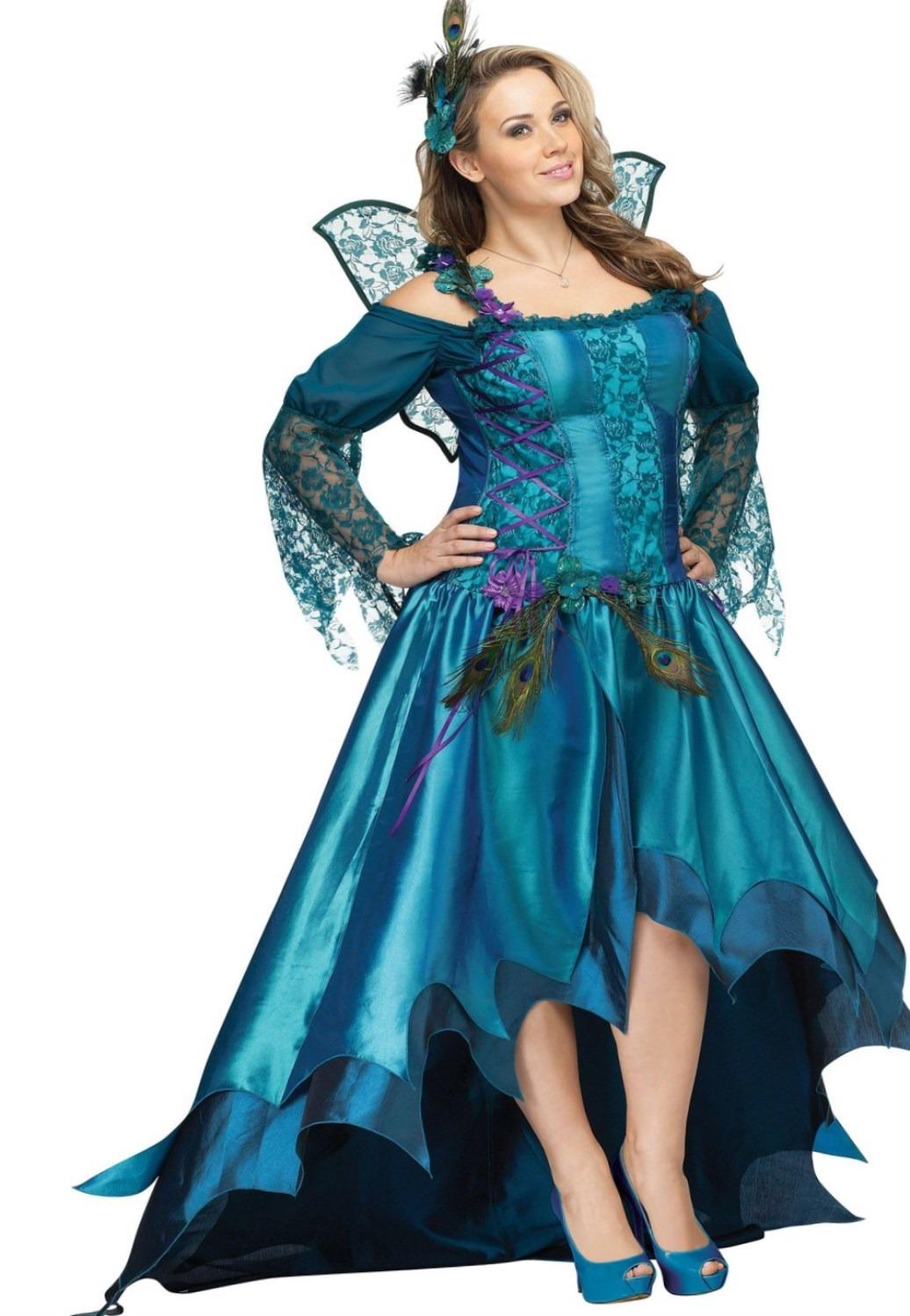 Elegant Peacock Fairy Plus Size Costume
