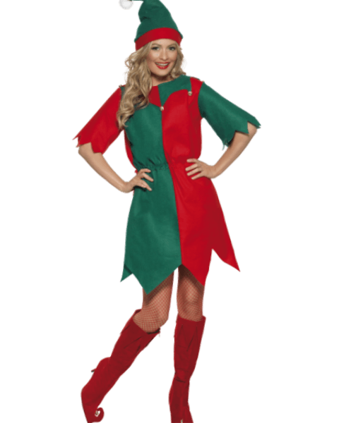 Elf Themed Xmas Fancy Dress