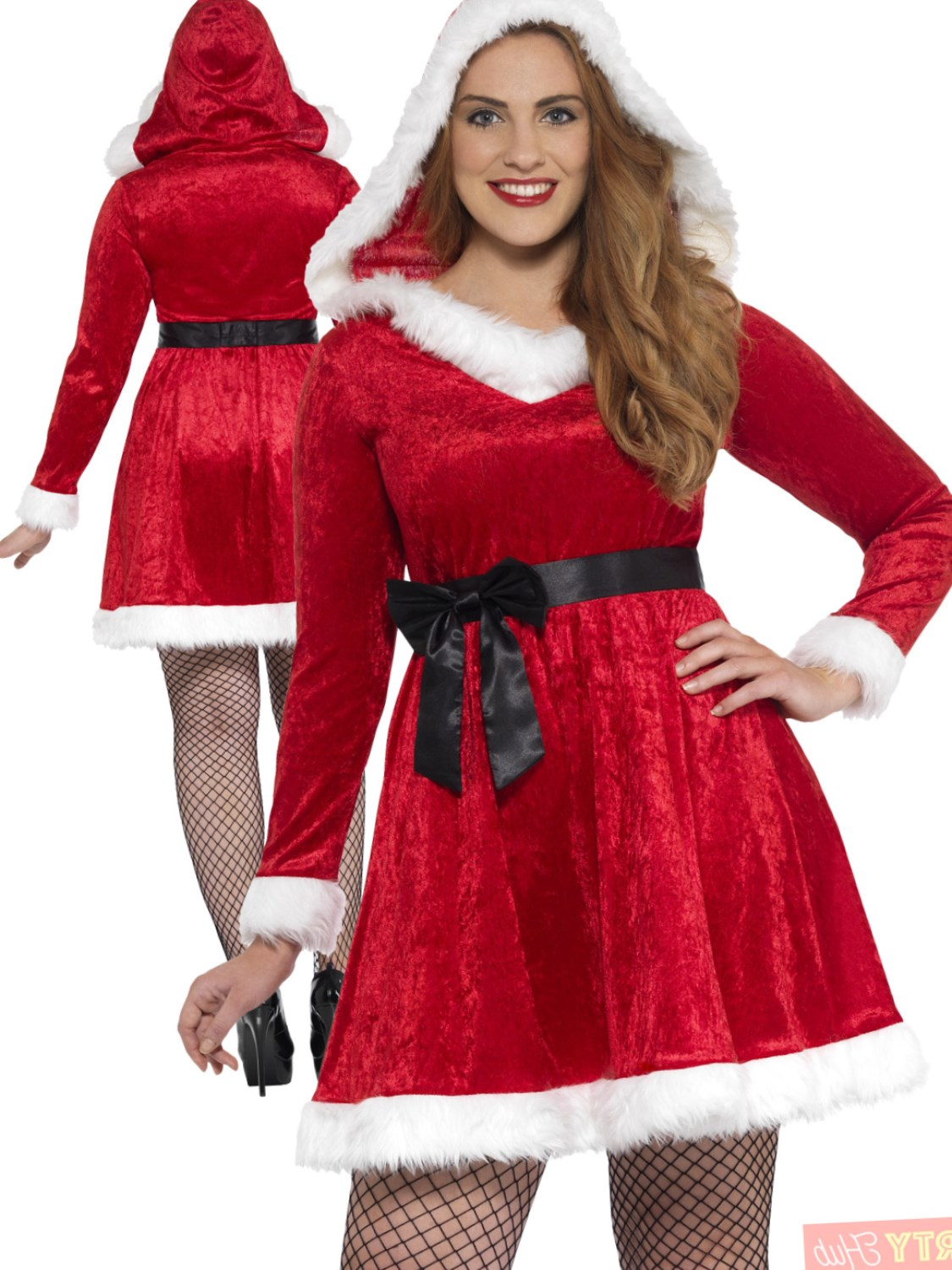 Ladies Curves Miss Santa Costume  sc 1 st  Plus size women dress 2018 : ladies santa costume  - Germanpascual.Com