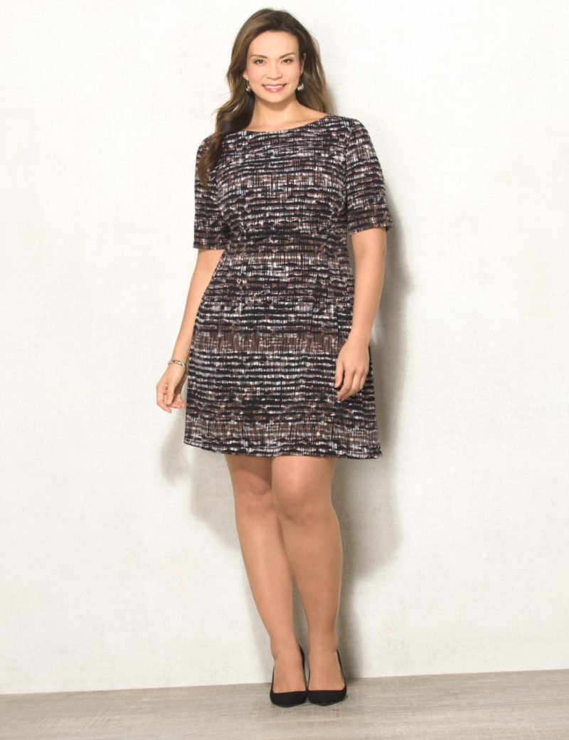 Sophisticated Print Dress- Perfect for a work function