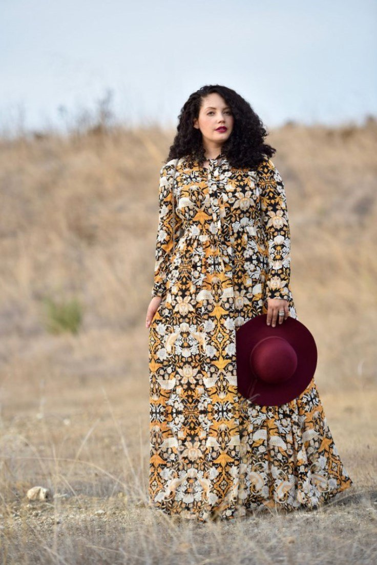 plus size fall maxi dresses 2017 - pluslook.eu collection