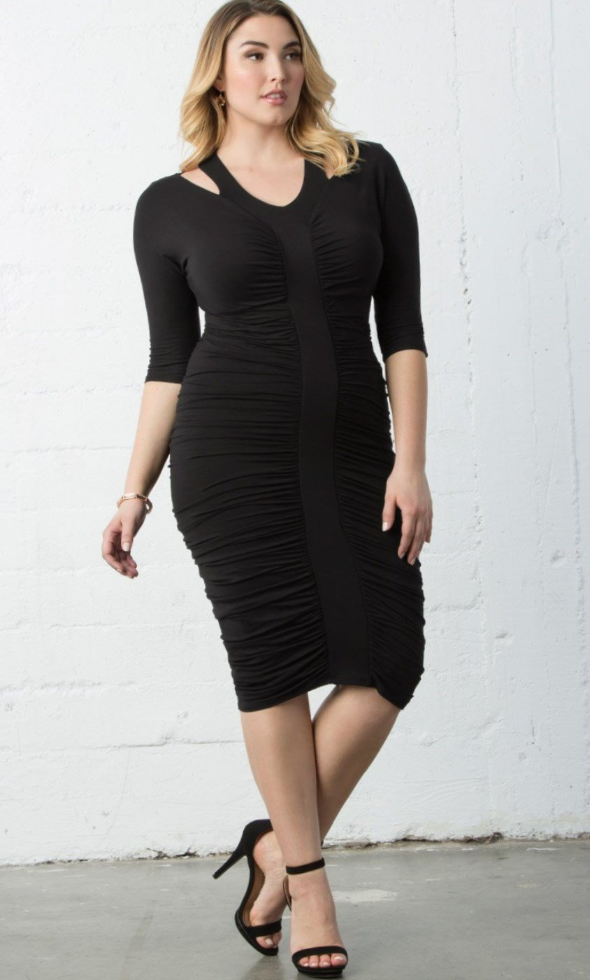 Plus Size Fall Dress 2018 Pluslook Collection