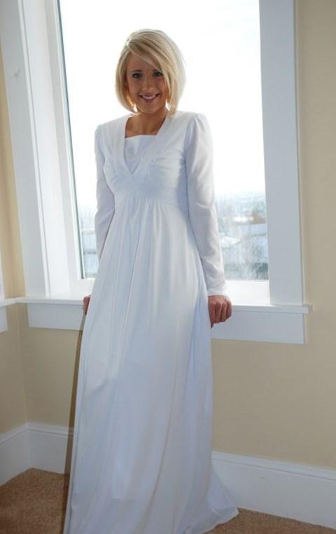 Pregnant Wedding Dress